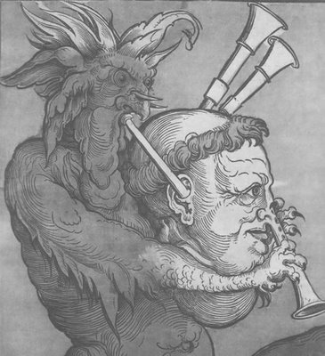 Luther as Devil's Bagpipe