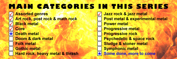 Main categories - jazz